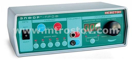 ЭЛФОР-ПРОФ - Аппарат для гальванизации и лекарственного электрофореза :: ЭЛФОР-ПРОФ