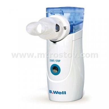 Ингалятор электронно-сетчатый B-Well WN-114 adult :: Ингалятор электронно-сетчатый B-Well WN-114 adult