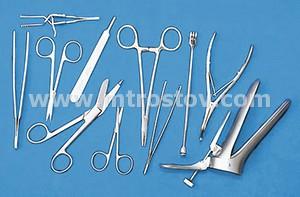 Фото: Набор медицинских инструментов  Н-141 Набор медицинских инструментов поликлинический Н-141