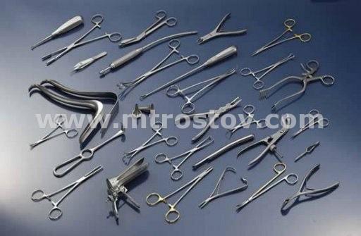 Набор медицинских инструментов военно-медицинский операционный малый Н-151 (Россия) :: Набор медицинских инструментов военно-медицинский операционный малый Н-151