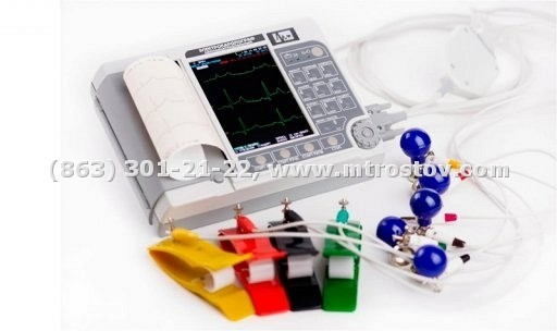 Электрокардиограф ЭК12Т-01-Р-Д экран 141мм :: Электрокардиограф ЭК12Т-01-Р-Д экран 141мм