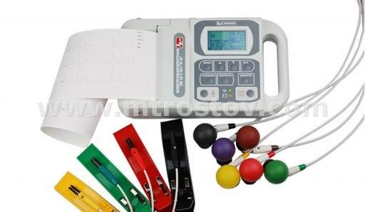 Электрокардиограф ЭК12Т-01-Р-Д экран 63мм :: Электрокардиограф ЭК12Т-01-Р-Д с экраном 63мм