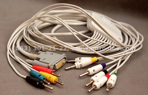 Кабель электродный ЭКГ, для электрокардиографов ЭК3Т, ЭК12Т :: Кабель электродный ЭКГ, для электрокардиографов ЭК3Т, ЭК12Т