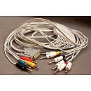 Кабель электродный ЭКГ, для электрокардиографов ЭК3Т, ЭК12Т