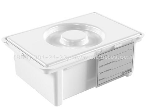 Фото: ЕДПО-1-02-2  ЕДПО-1-02-2 контейнер для дезинфекции