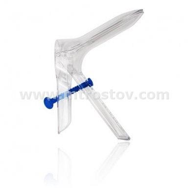 Зеркало гинекологическое однократного применения стерильное по Куско (1уп-100шт) :: Зеркало гинекологическое однократного применения стерильное по Куско