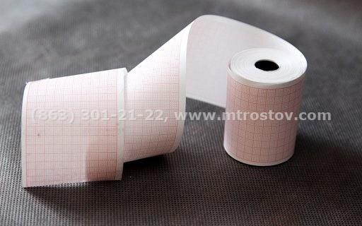 Термобумага 57мм для электрокардиографа :: Термобумага 57мм для электрокардиографа