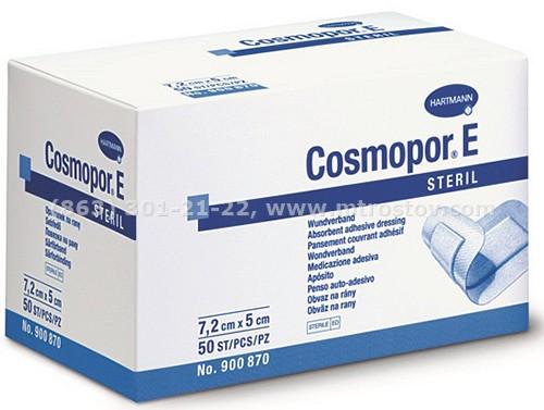 Повязка стерильная самоклеящаяся Cosmopor E 7,2х5см (1уп-50шт)  :: Повязка стерильная самоклеящаяся Cosmopor E 7,2х5см