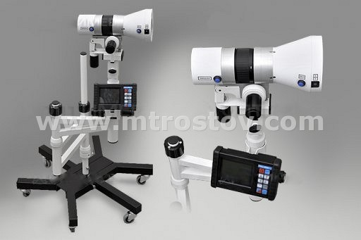 Видеокольпоскоп цифровой на консольном штативе (встроенный монитор и устройство фиксации изображения, светодиодный осветитель) КС-02 мод 055-01
