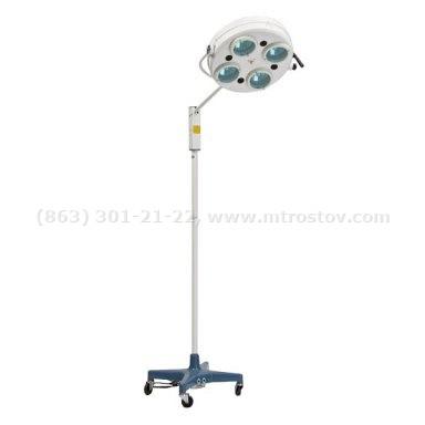Фото: Светильник диагностический хирургический L-734  Светильник диагностический хирургический передвижной L-734