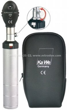 Офтальмоскоп KaWe Евролайт Е10 (1 апертура) Германия :: Офтальмоскоп KaWe Евролайт Е10