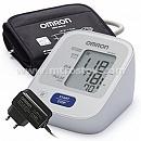 Тонометр автоматический OMRON M2 Basic, адаптер (M-L) :: Тонометр автоматический OMRON M2 Basic с адаптером