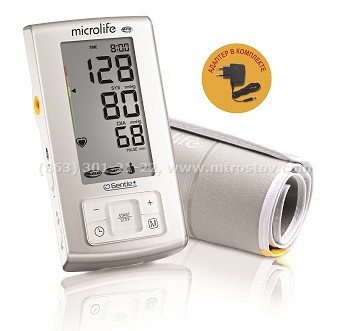Тонометр автоматический Microlife BP A6 PC, адаптер (M-L) :: онометр автоматический с функцией выявления риска инсульта Microlife BP A6 PC