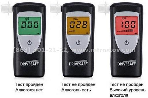 Алкотестер Drivesafe II (с поверкой)