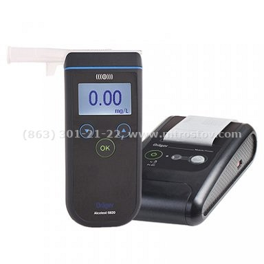 Алкотестер Drager ALCOTEST 6820 с принтером (с поверкой)