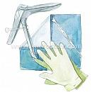 Набор для гинекологических осмотров НГО-03, одноразовый, стерильный (1уп-55шт) :: Набор для гинекологических осмотров НГО-03